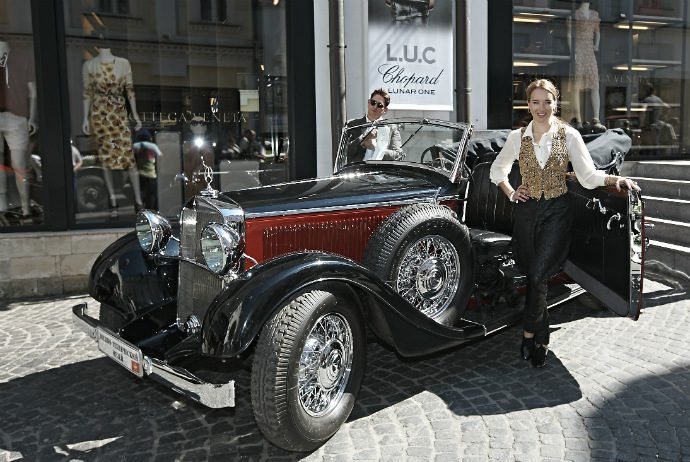 Ралли L.U.C Chopard Classic Weekend Rally 2013