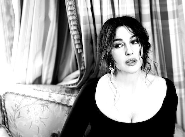 Интервью моника белуччи о красоте