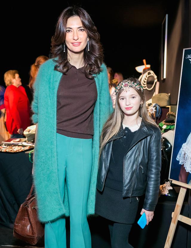 Снежана Георгиева с дочерью Софией
