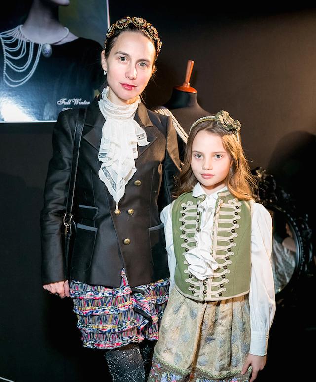 Ольга Томпсон с дочерью
