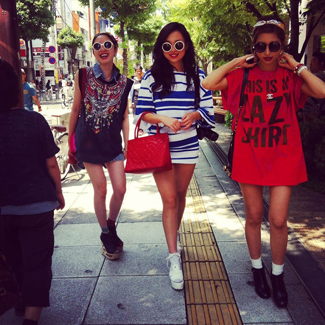 Япония юбки с трусами