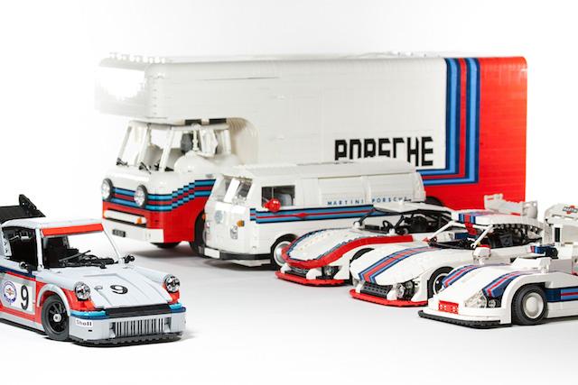 Набор гоночных автомобилей Porsche от LEGO (фото 6)