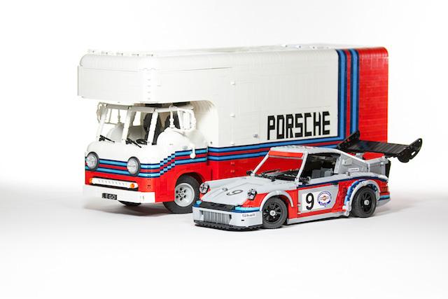 Набор гоночных автомобилей Porsche от LEGO (фото 5)