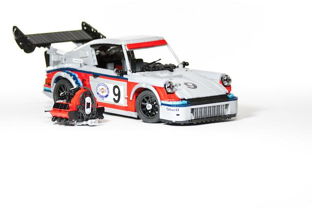 Набор гоночных автомобилей Porsche от LEGO (фото 2)