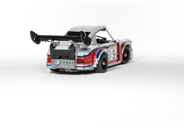 Набор гоночных автомобилей Porsche от LEGO (фото 4)