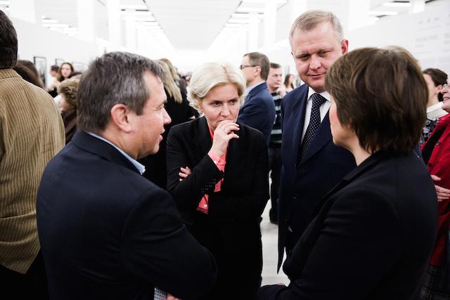 Ольга Голодец и Сергей Капков