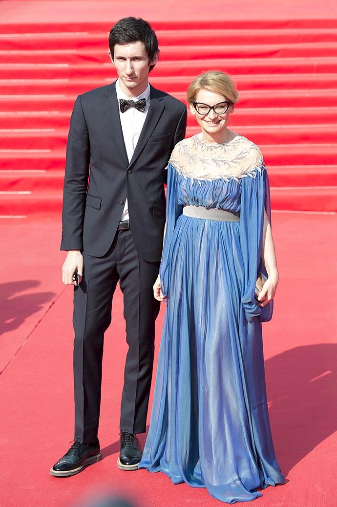 Эвелина Хромченко с сыном
