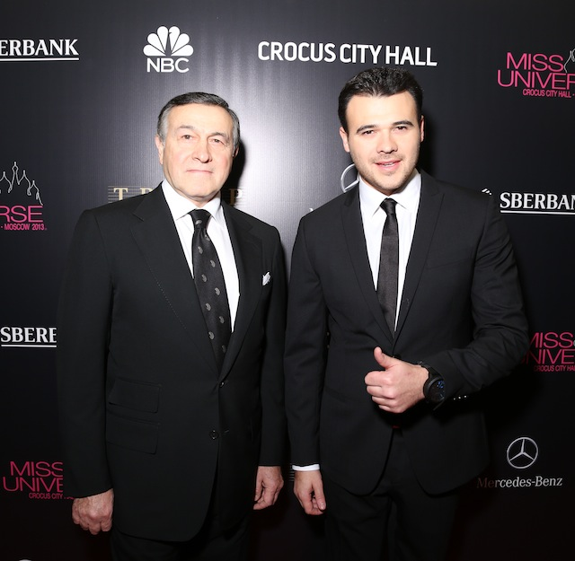 Арас и Эмин Агаларовы