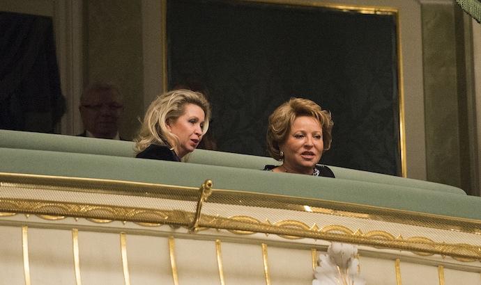 Светлана Медведева и Валентина Матвиенко