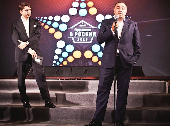 Николай Усков и Александр Роднянский