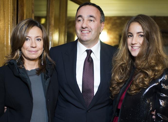 Валерия, Александр и Елена Роднянские