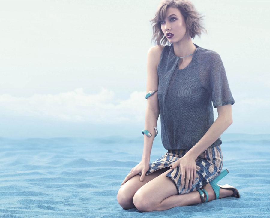 Карли Клосс в рекламной кампании Animale (фото 9)
