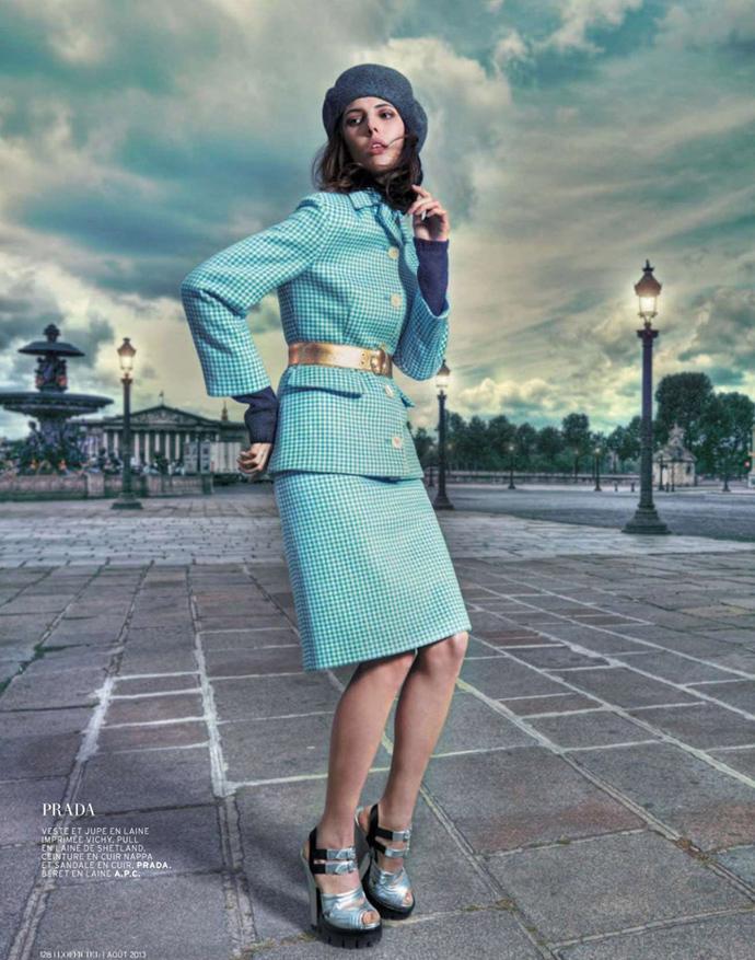 Australian model jessica hart graces l 2019officiel paris march 2014 cover