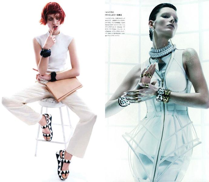 Harper's Bazaar Australia май 2013 и Numero Tokyo май 2013