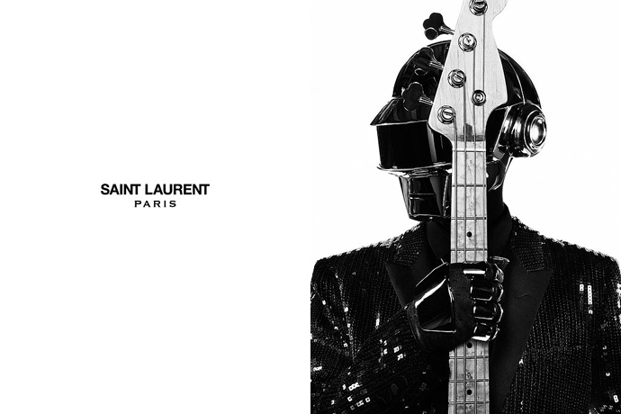 Daft Punk в проекте Saint Laurent