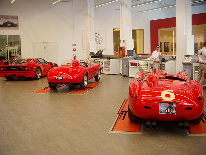 Экскурсия Buro 24/7: завод Ferrari (фото 2)