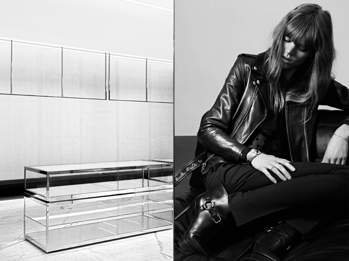 Реклама Saint Laurent pre-fall 2013