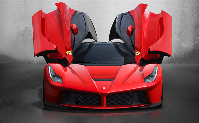 Новый суперкар La Ferrari