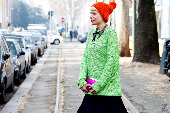 Streetstyle от Жанны Ромашка из Милана. Часть I (фото 10)