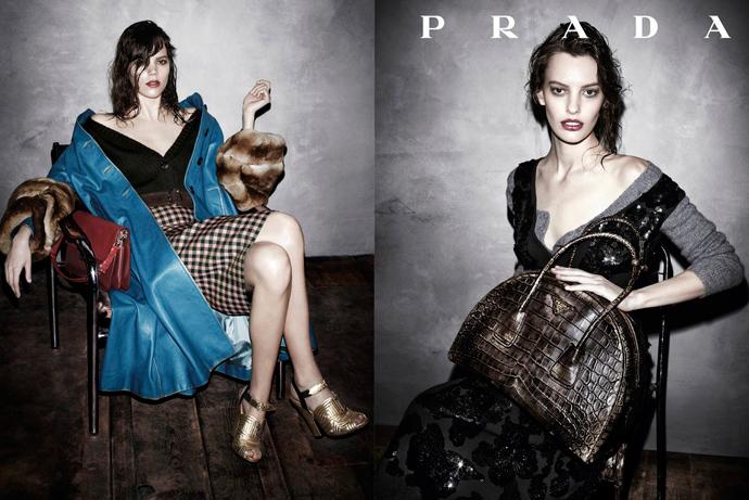 Рекламная кампания Prada