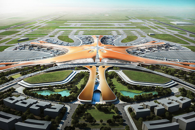 Zaha Hadid and ADPI will design the world's largest terminal in Beijing (photo 1)