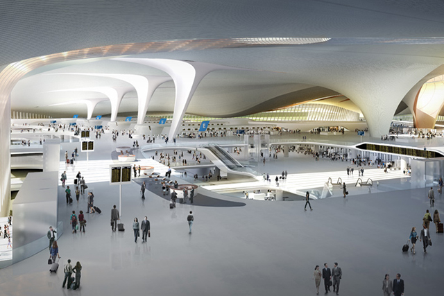 Zaha Hadid and ADPI will design the world's largest terminal in Beijing (photo 2)