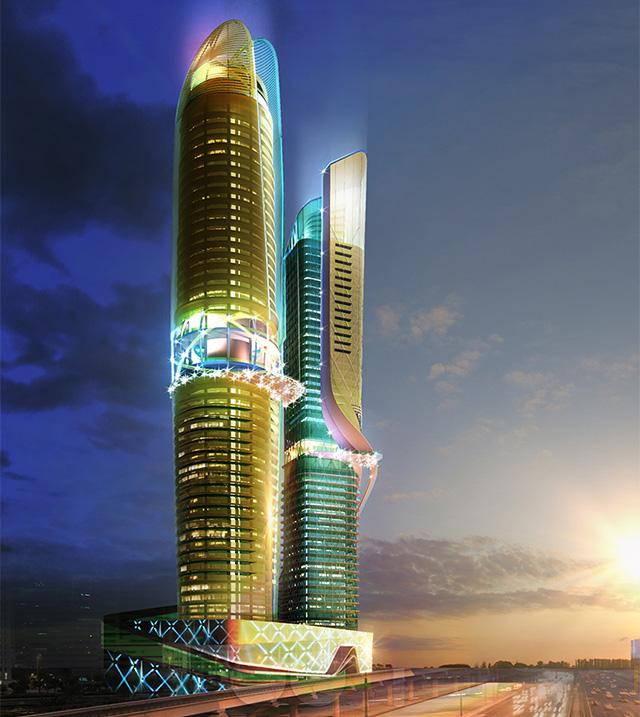В Дубае построят отель с тропическим лесом на открытых этажах (фото 1)