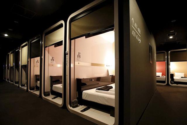 В Японии появятся капсульные отели класса люкс (фото 1)