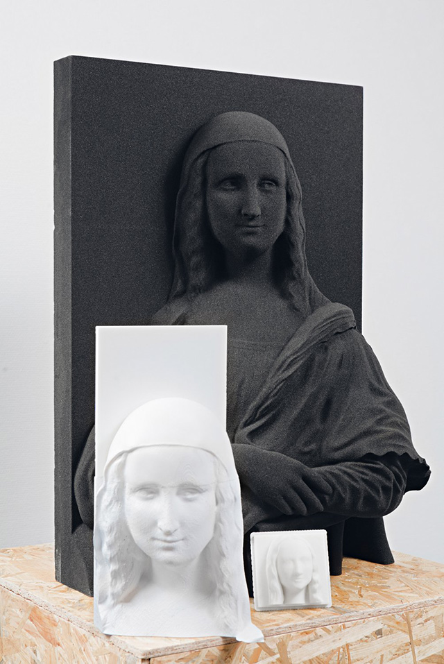 Портрет Моны Лизы создали в 3D (фото 1)