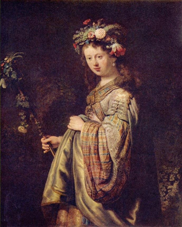 """""""Бюст молодой женщины"""" Рембрандта привезли в Голландию (фото 4)"""