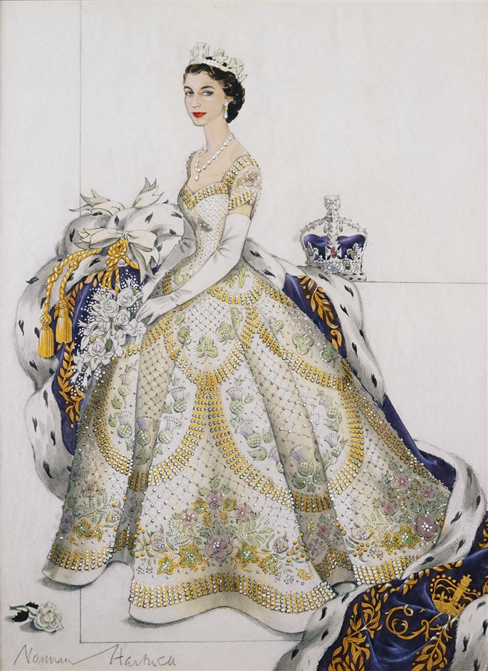 Выставка к юбилею коронации Елизаветы II (фото 3)
