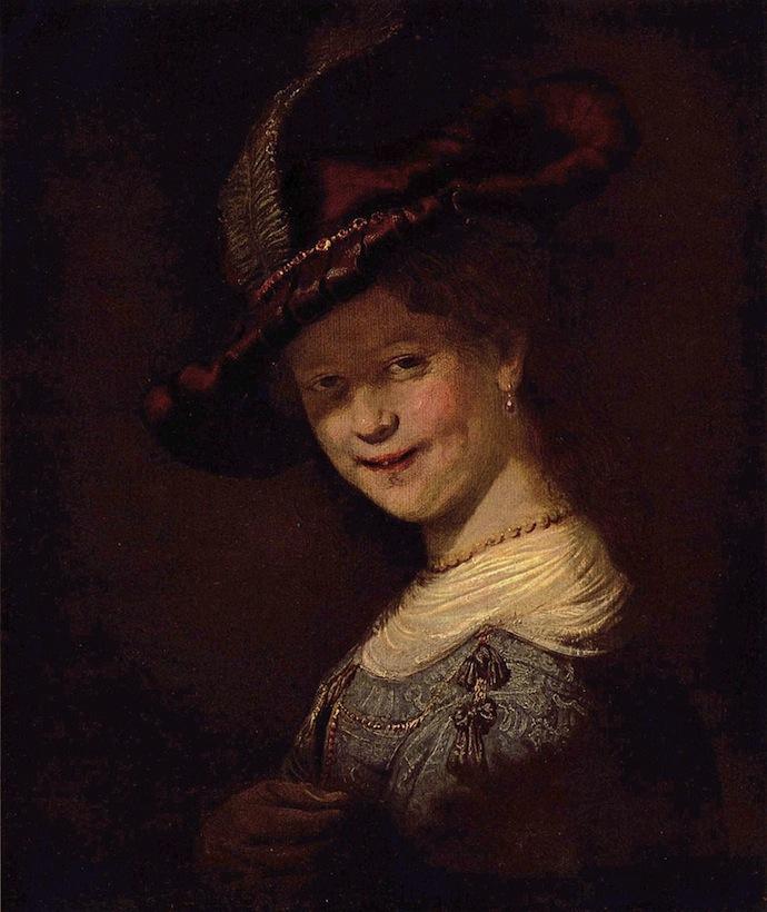 """""""Бюст молодой женщины"""" Рембрандта привезли в Голландию (фото 3)"""