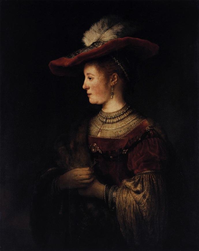"""""""Бюст молодой женщины"""" Рембрандта привезли в Голландию (фото 5)"""