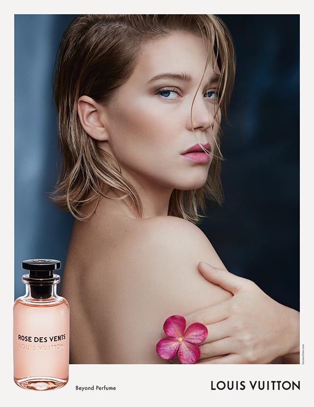 Леа Сейду стала лицом парфюмерной линии Louis Vuitton (фото 1)