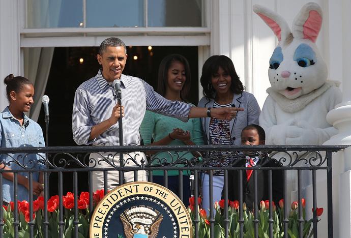 В Белом доме отпраздновали пасху (фото 2)