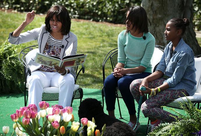 В Белом доме отпраздновали пасху (фото 3)