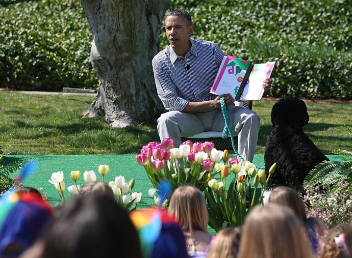 В Белом доме отпраздновали пасху (фото 1)