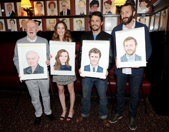 Лейтон Мистер и Джеймс Франко украсили ресторан Sardi's своими портретами (фото 2)