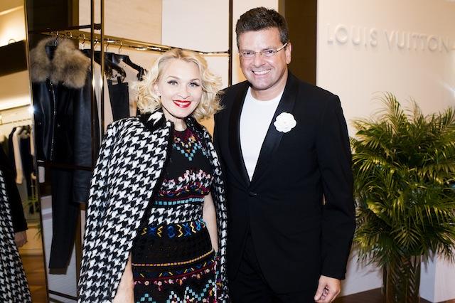 Коктейль и презентация круизной коллекции Louis Vuitton (фото 9)