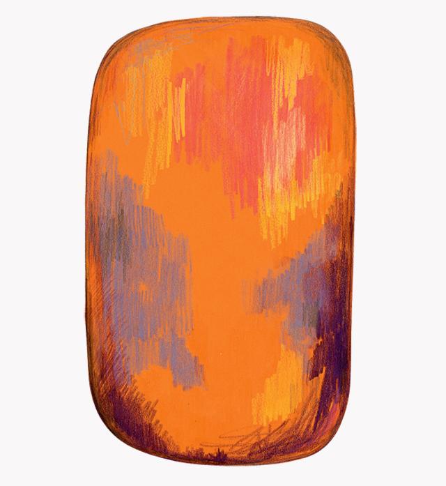 """Scribble Yellow"" от Moooi carpets"