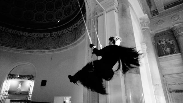 Йоханна ван Овермейр -перфоманс, фото Мария Анаскина