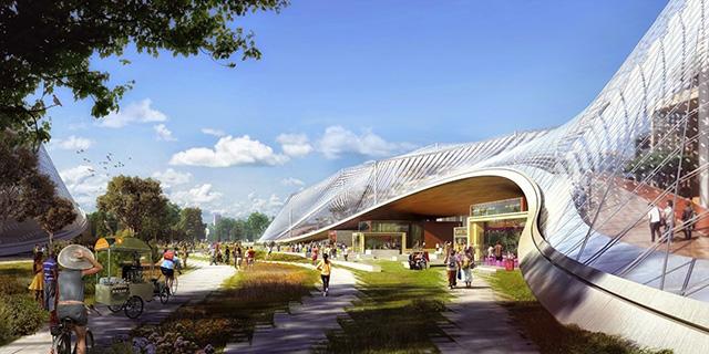 Google представили здание своего нового офиса (фото 4)