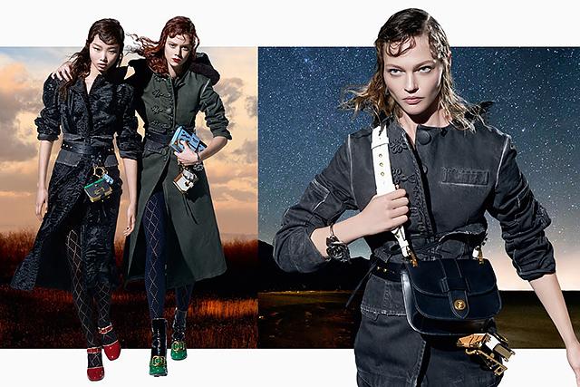 27 моделей снялись в осенней кампании Prada (фото 3)