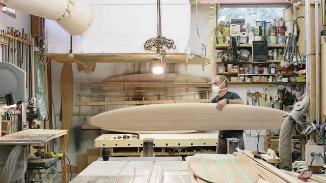 Серфинг как искусство: деревянные доски Ottovo x Jason Tilley (фото 1)