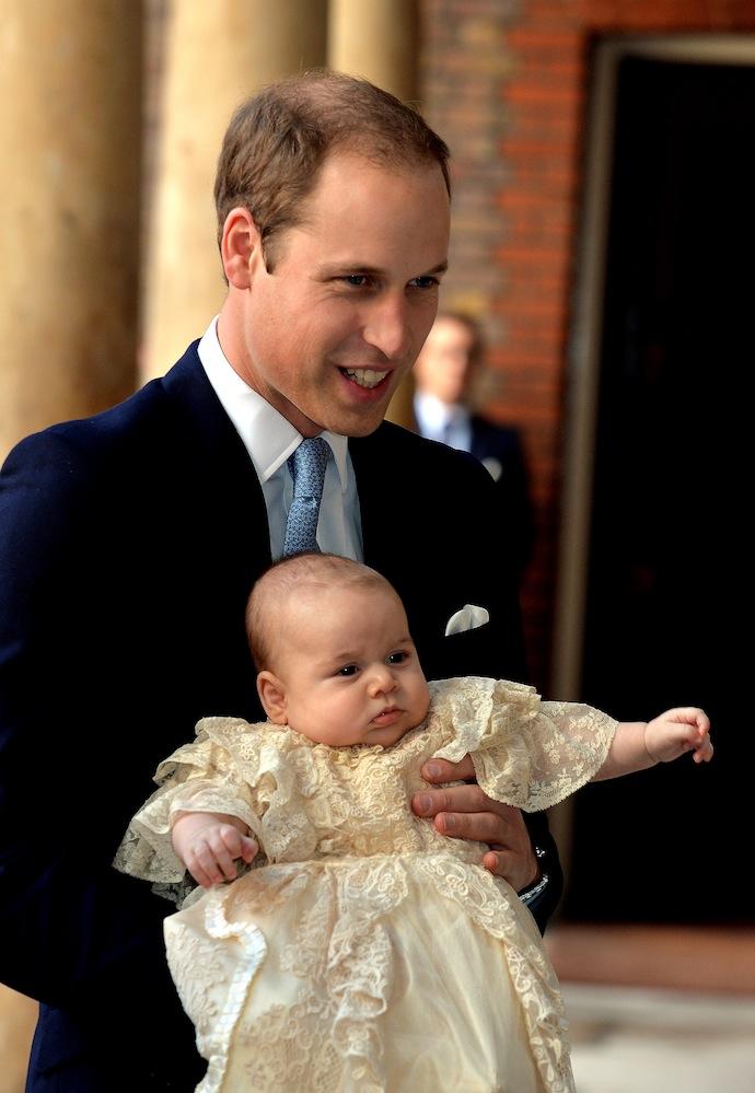 Крестины принца Георга в Лондоне (фото 3)