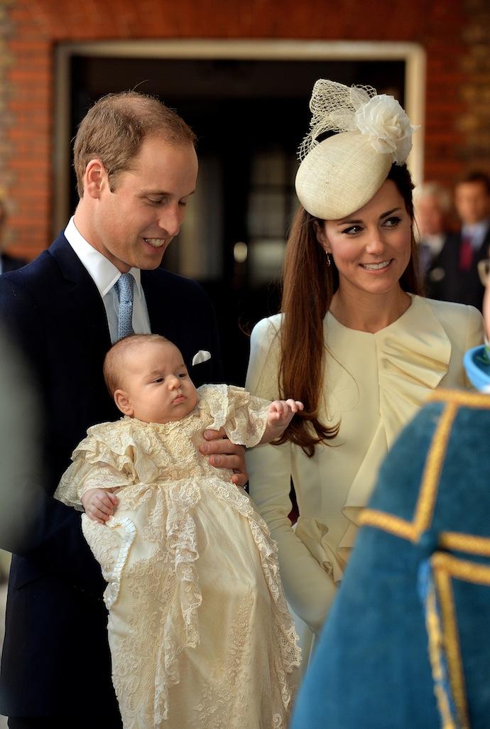 Крестины принца Георга в Лондоне (фото 4)