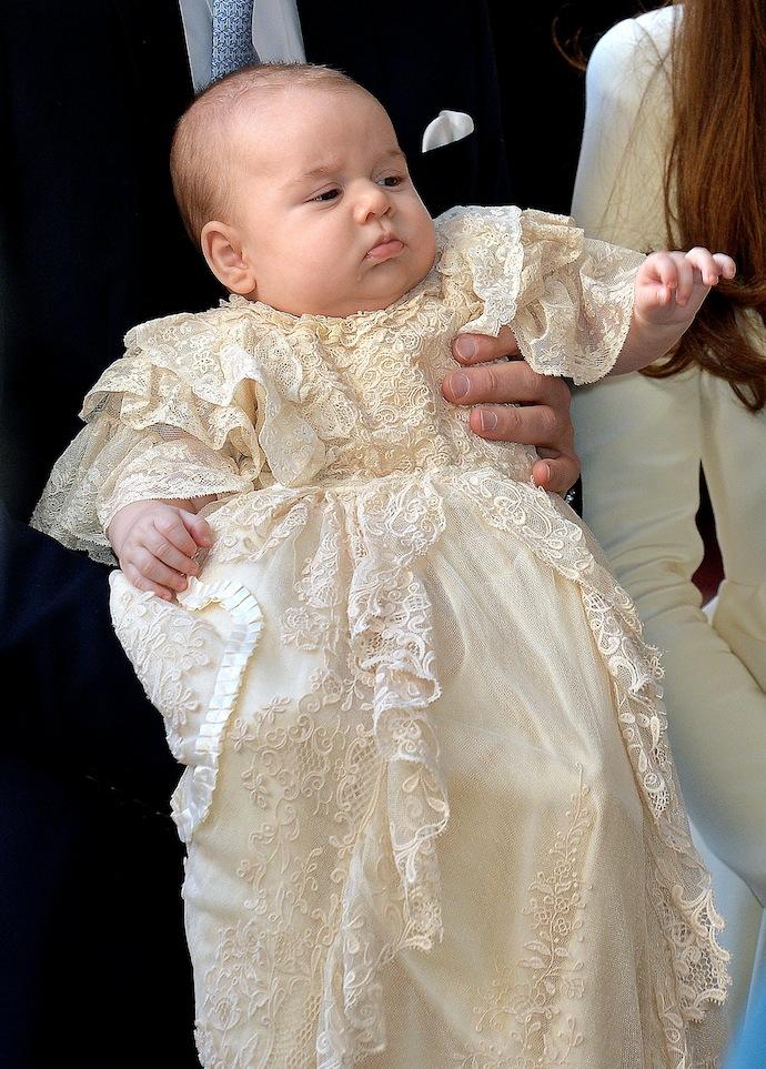 Крестины принца Георга в Лондоне (фото 2)
