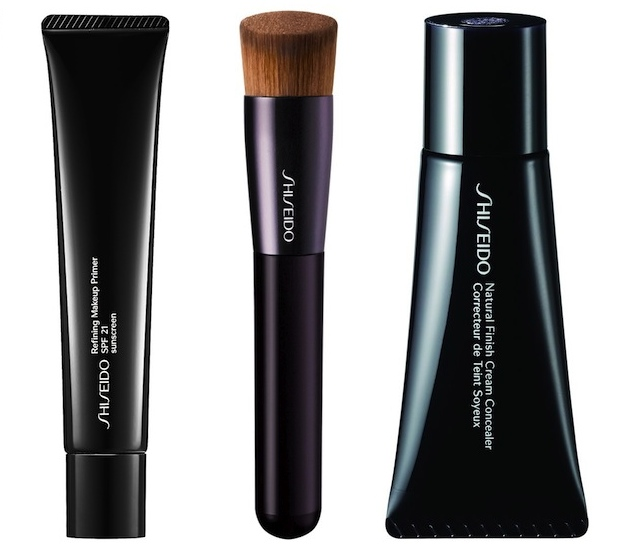 Refining Makeup Primer, Brush Perfect Foundation and Natural Finish Cream Concealer