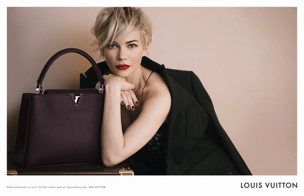 7f7f7221299b Полная версия рекламной кампании Louis Vuitton с Мишель Уильямс ...