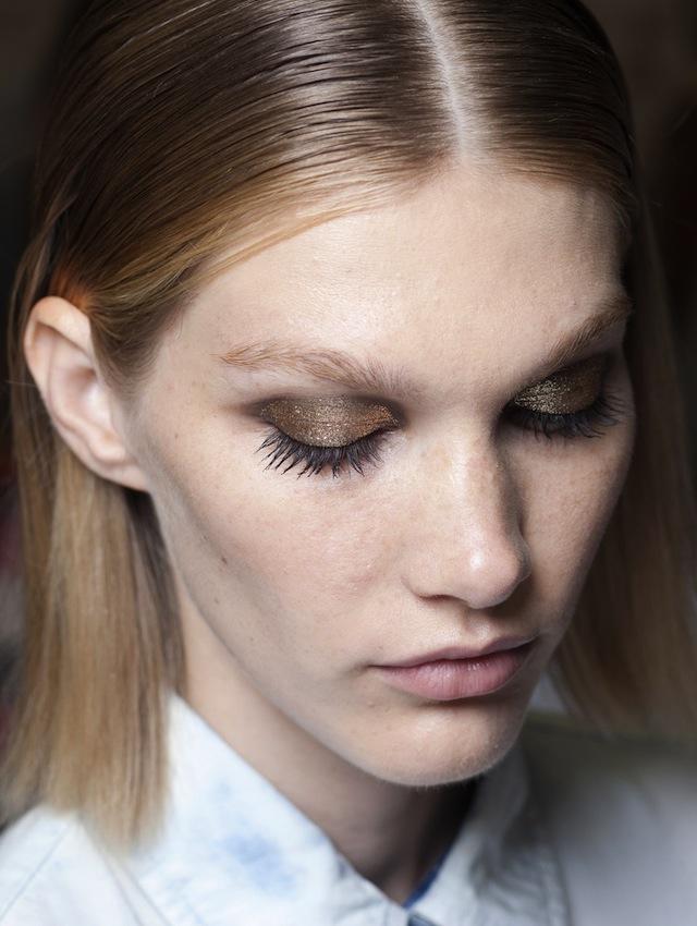 Тенденция: золото в макияже (фото 3)